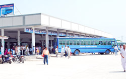 Kaithal's new Bus depot