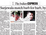 Chautala, Surjewala match barb for barb, byte for byte