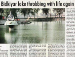 Bidkiyar lake throbbing with life again